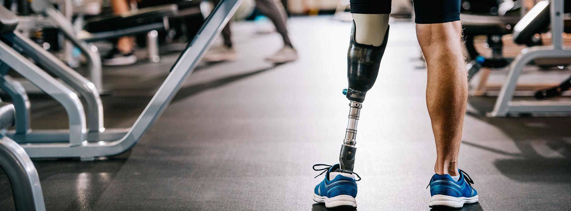 protesi arto inferiore